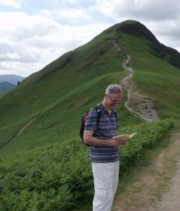Tom on Cat Bells